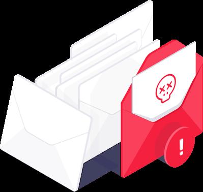 Deteksi email sampah Avast