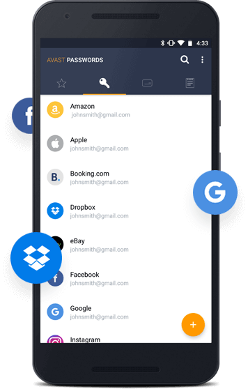 Download Free Password Manager | Log in Faster with Avast