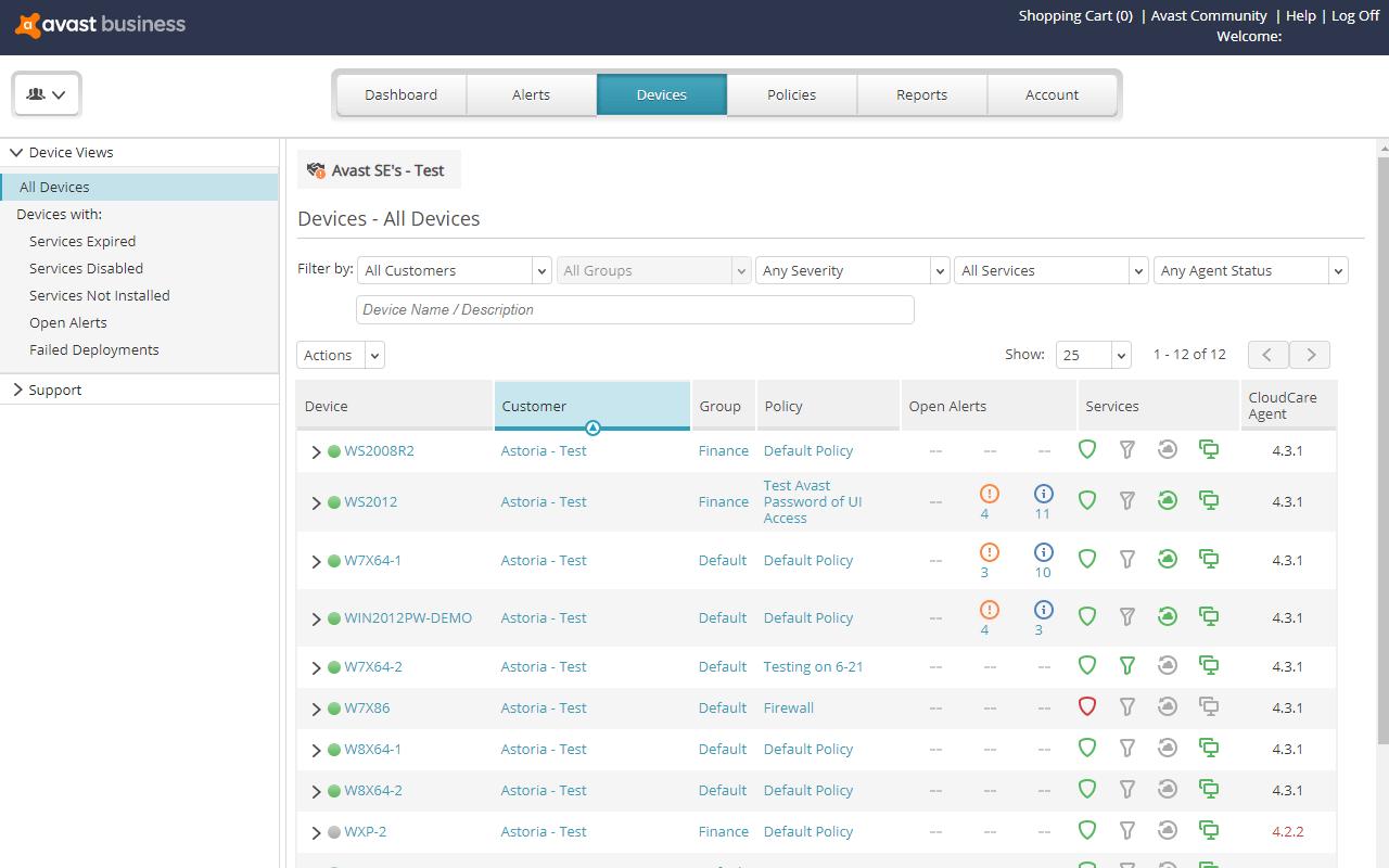 CloudCare - Layered IT Security Platform | Avast Business