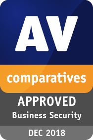 AV-Comparatives - Approved Business Product 2018
