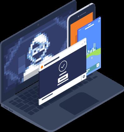 Obtener la Pasarela a Internet segura de Avast Business