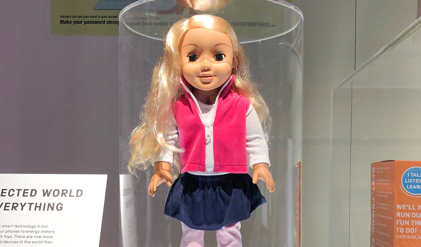 Even connected dolls are vulnerable