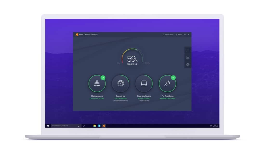Avast Cleanup cho PC