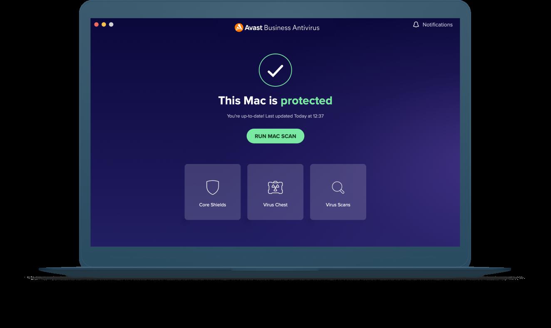 Solution antivirus complète incluant des options de personnalisation.