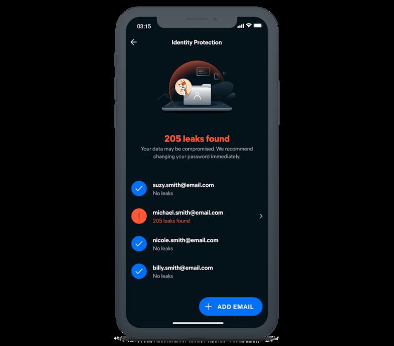 Walang limit na Proteksyon ng Pagkakakilanlan (Unlimited Identity Protection)