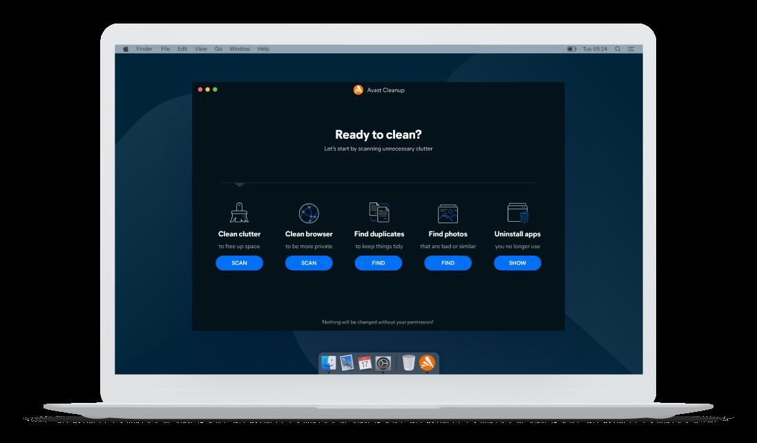 AvastCleanup для Mac