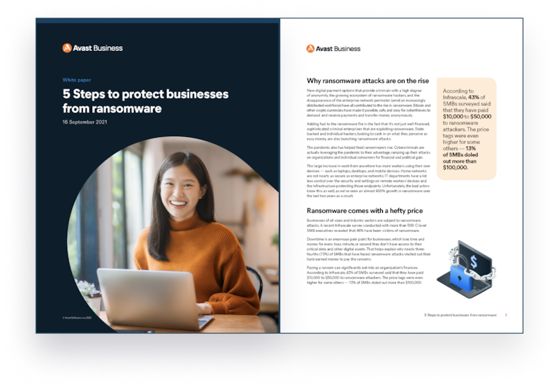 5 steps to protect small businesses from ransomware