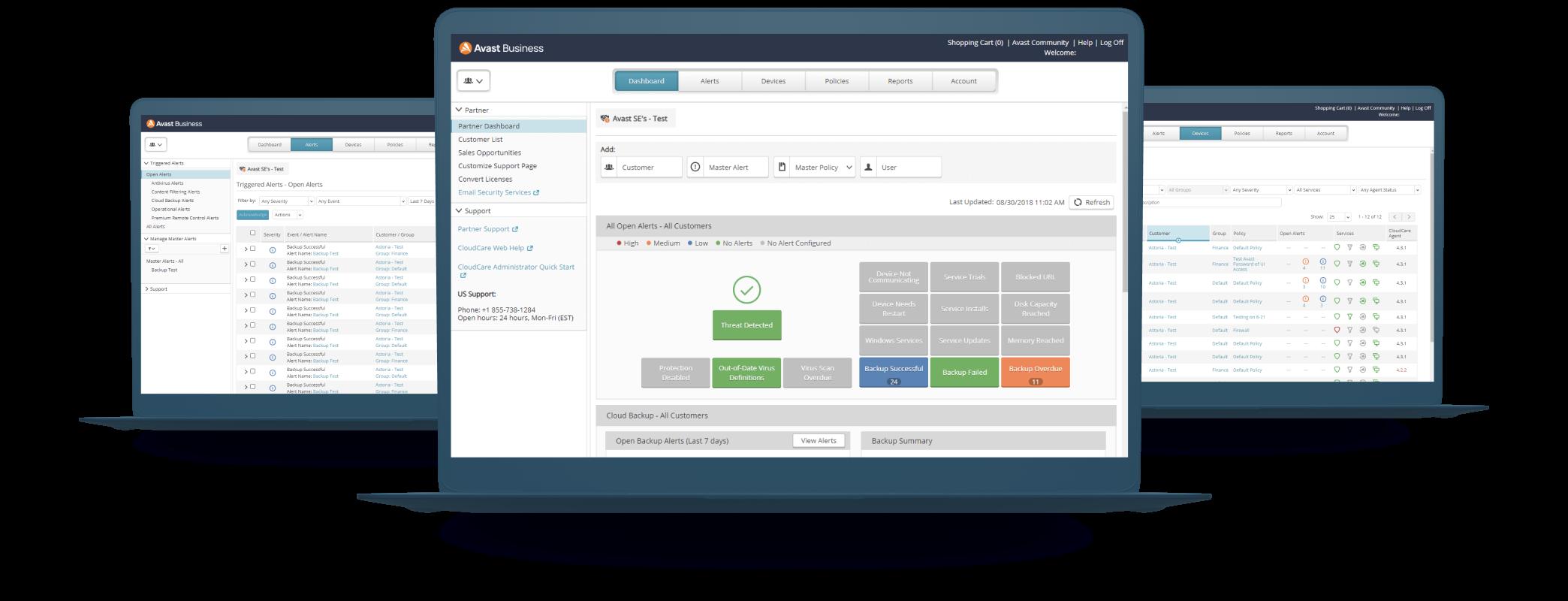 CloudCare enthält einen vollständigen Satz von Sicherheitsdiensten.