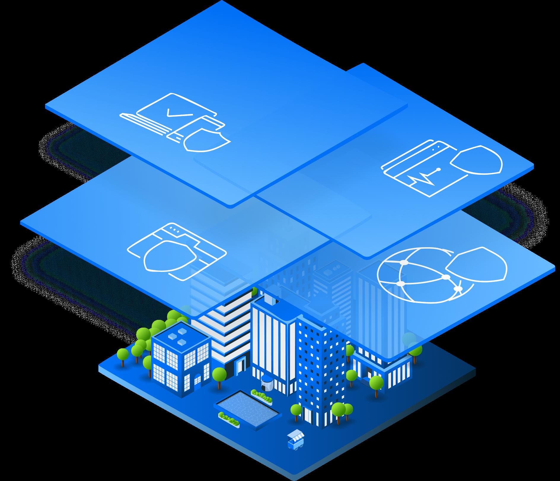 Защитите свой бизнес от всех типов уязвимостей с помощью комплексной системы безопасности Avast.