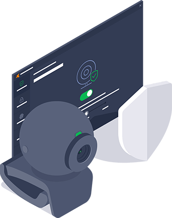 Escudo de webcam de Avast