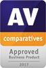 AV-Comparatives. Награда «Одобренный продукт для бизнеса 2017г.»