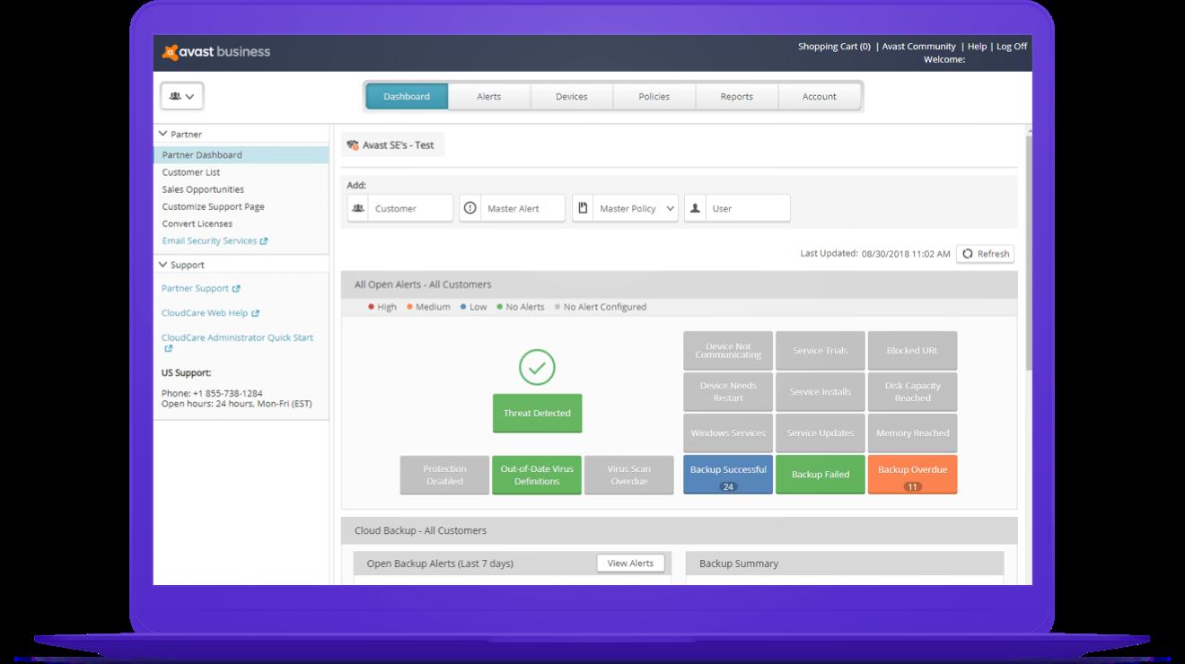 Avast Business CloudCare