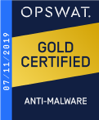 2019: Sertifisert <br/>mot skadelig programvare