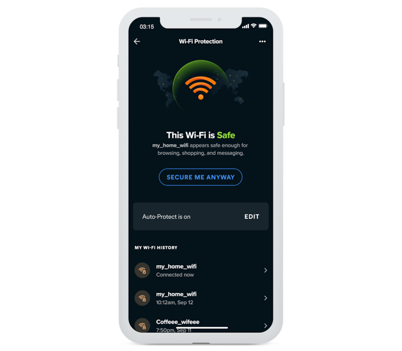 Verifica facilmente la protezione Wi-Fi