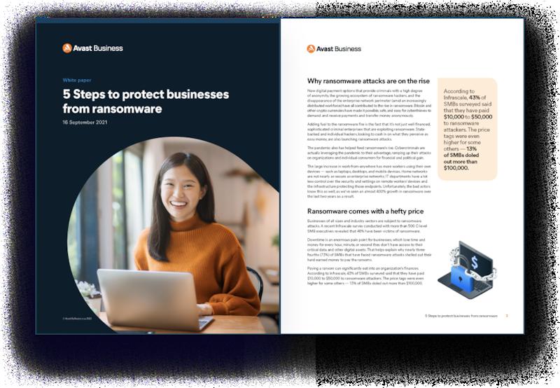 小規模ビジネスをランサムウェアから保護する 5 つのステップ
