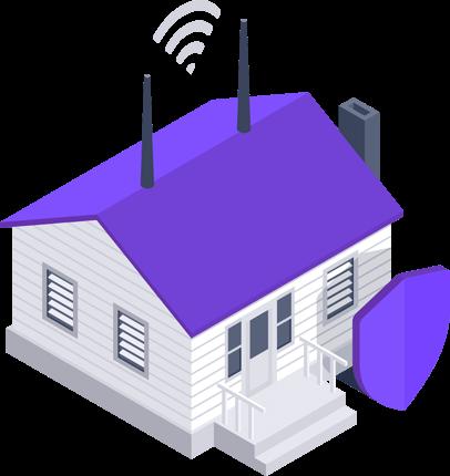 Protection du réseau domestique par Avast