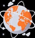 Global räckvidd