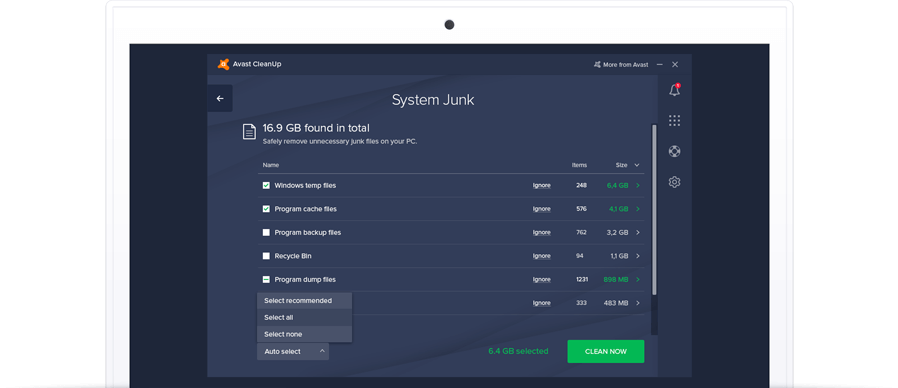 free version of avast cleanup