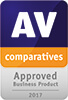 AV-Comparatives — wyróżnienie produktu dla firm: Approved Business Product 2017