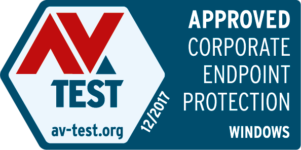 Approved Corporate Endpoint Protection AV-TEST