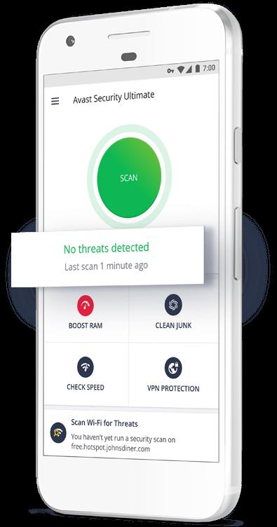 30ceb8f2b تطبيق Free Android Antivirus | Avast Mobile Security