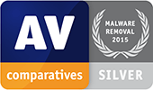 AV-Comparatives - Suppression de malwares - SILVER