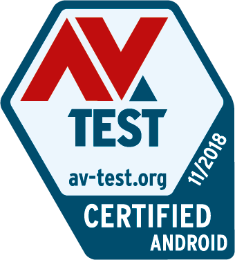 AV-TEST– Test zur besten Antivirus-Software für Android– zertifiziert