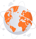 Maailmanlaajuinen toiminta-alue