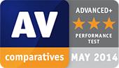 AV-Comparatives – hodnocení Advanced+ ve výkonnostním testu