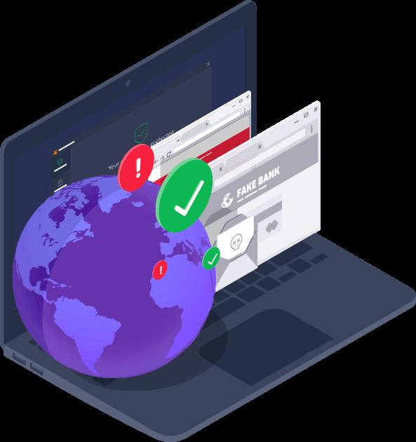 Получите безопасный интернет-шлюз Avast Business