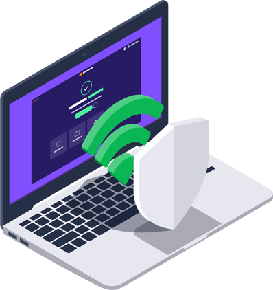 Funksjoner for Wi-Fi-sikkerhet