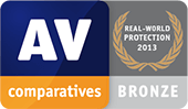 AV-Comparatives - 真實世界防護 - 銅牌獎