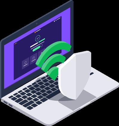 Funzionalità per la protezione Wi-Fi