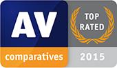 AV-Comparatives - 2015 年最優秀総合速度 - ゴールド