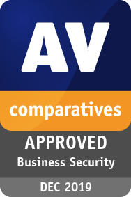 AV-Test Approved Corporate Endpoint Protection Top Product Award 8/2019