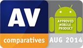 AV-Comparatives - 2014 年認定モバイル製品