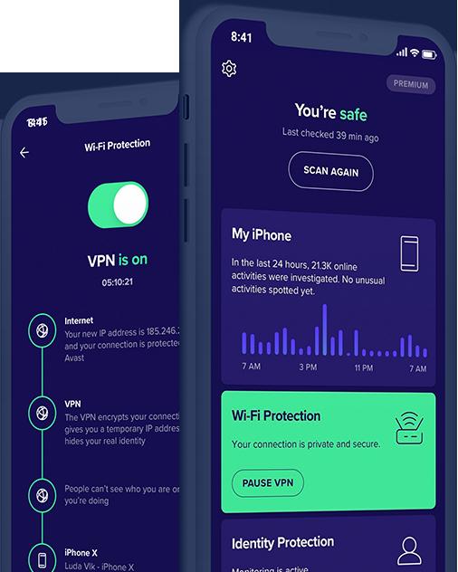 Személyes adatok védelme VPN-nel