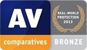 AV-Comparatives - Protezione in ambienti reali - Riconoscimento Bronzo
