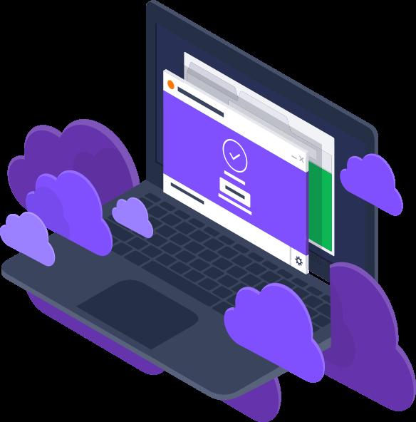 التمتع بخدمة أمن الشبكات في CloudCare