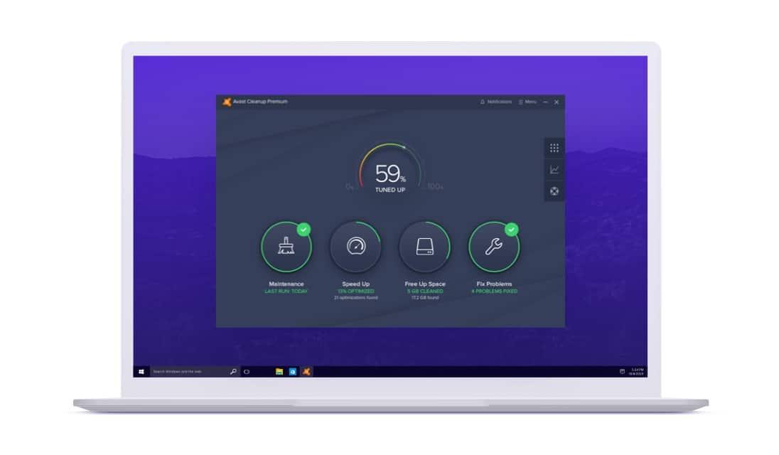Avast Cleanup لأجهزة الكمبيوتر الشخصية