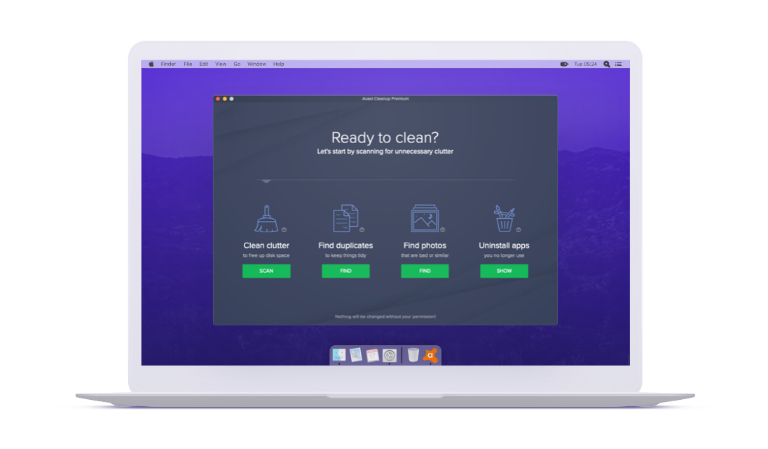 Avast Cleanup لأجهزة Mac