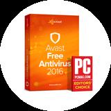 Avast 2016 PC Mag editörün seçimi ödülü