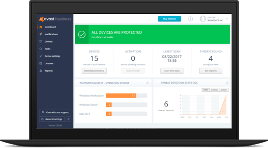 Small Business Antivirus | Avast for Business