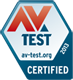 Utmärkelse från AV-TEST