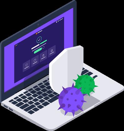 Funkce ochrany před malwarem