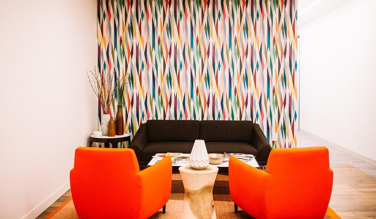 Emeryville lounge area