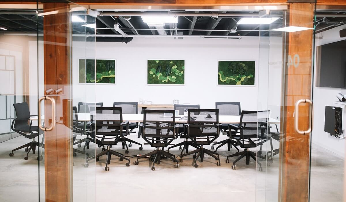 Redwood City conference room